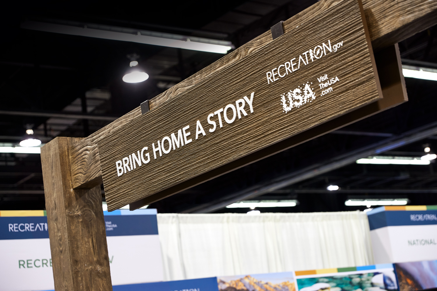 Image of Bring Home a Story sign