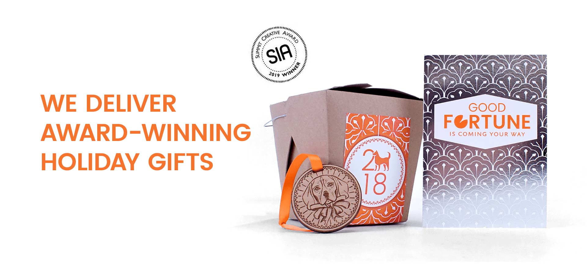 We deliver award-winning holiday gifts.
