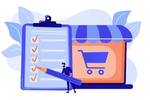 Checklist for launching a web store