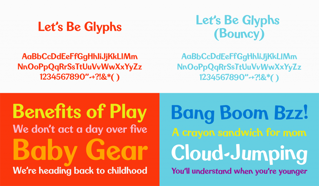 Fisher Price Typography