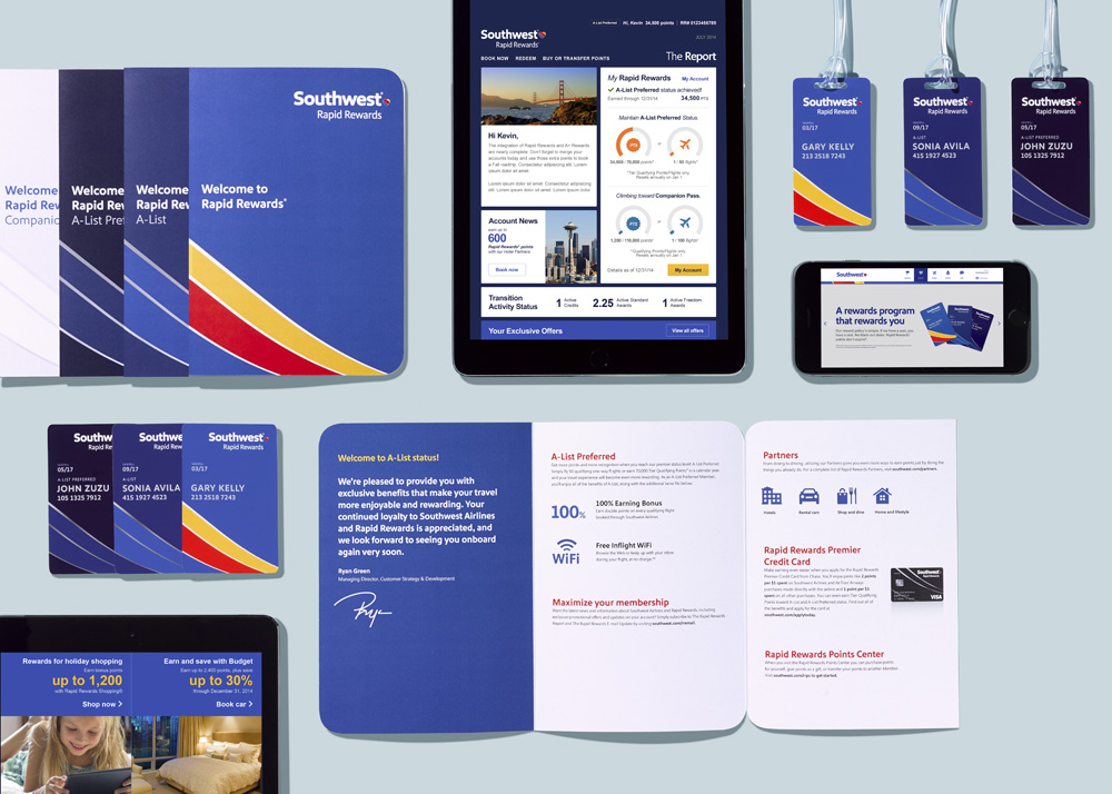 Southwest Airlines Visual Materials